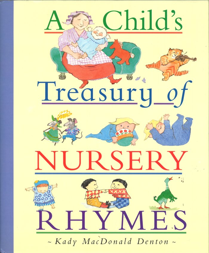 Cover of A Child's Treasury of Nursery Rhymes