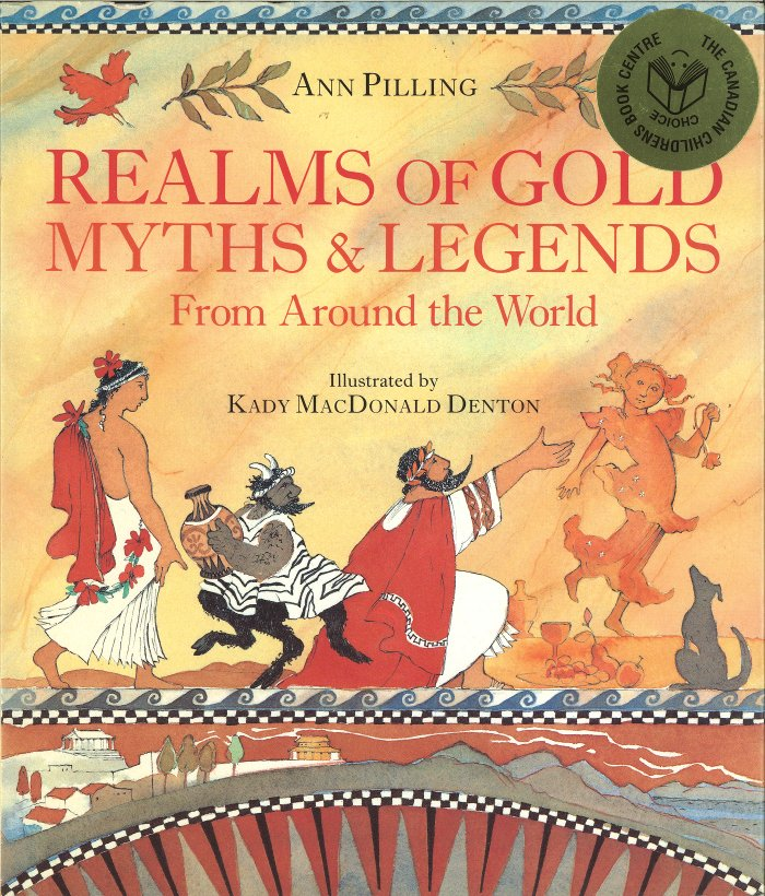 Cover of Realms of Gold: Myths and Legends from Around the World